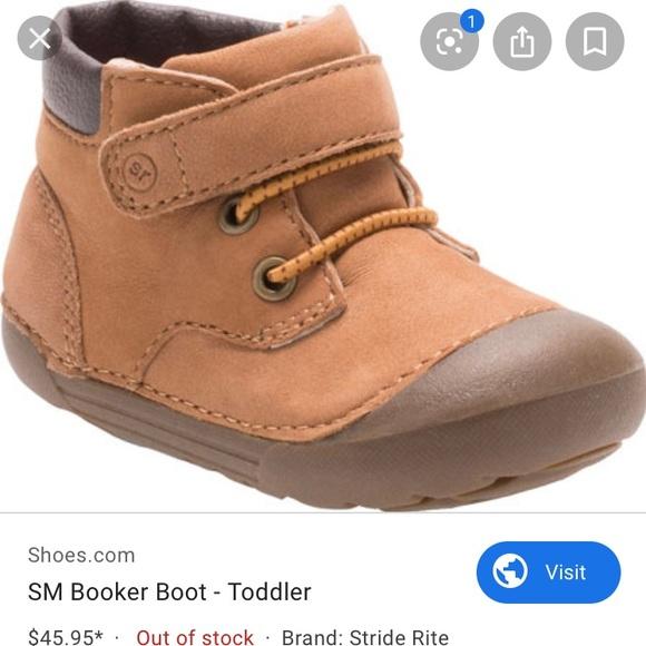 Stride Rite Memory Foam Toddler Boot
